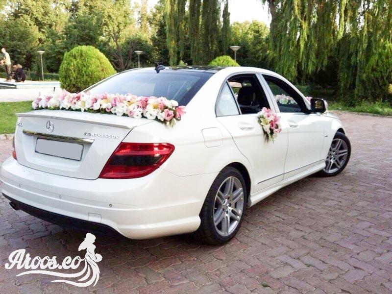 عکس ماشین عروس بنز شیک