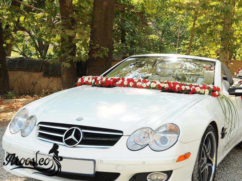 اموزش تزیین ماشین عروس بنز