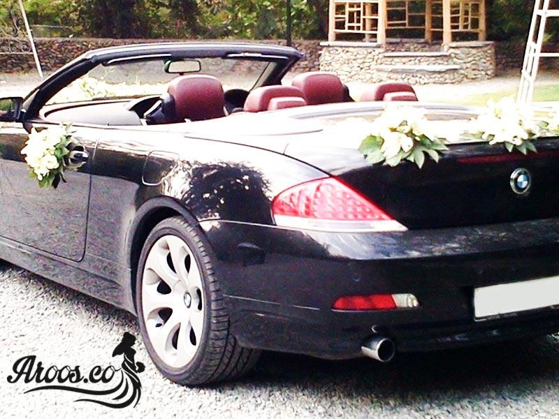 اموزش تزیین ماشین عروس بی ام و