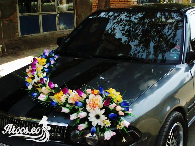 عکس ماشین عروس تویاتا