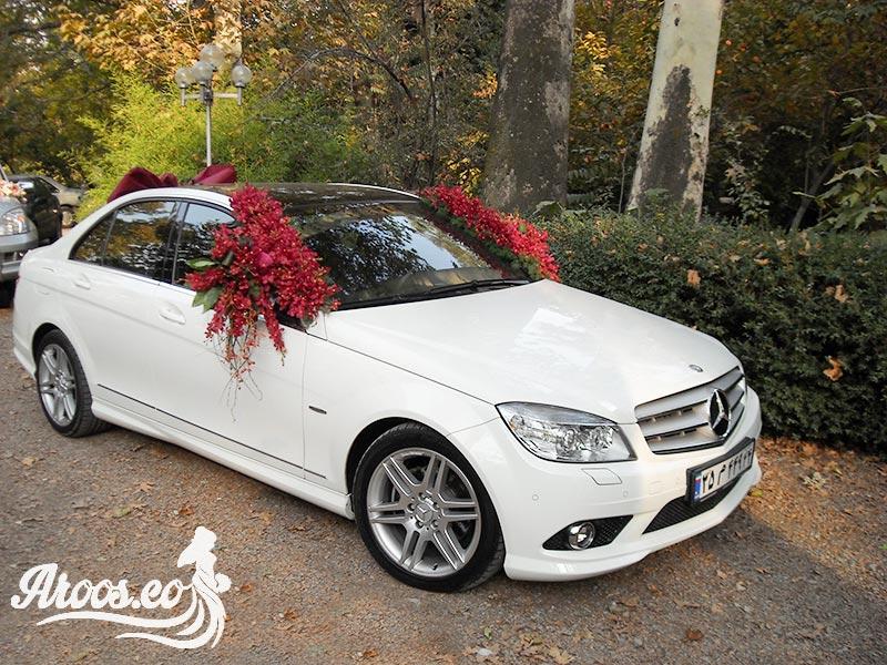 عکس ماشین عروس ایرانی زیبا