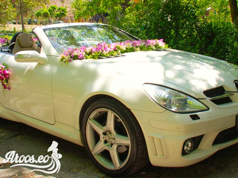 عکس ماشین عروس ایرانی