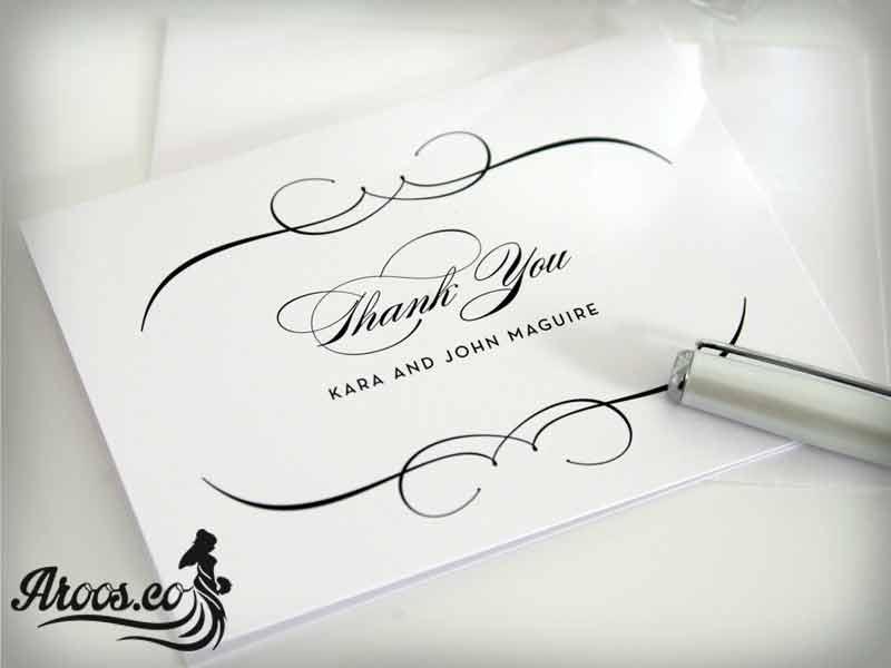 کارت عروسی خارجی