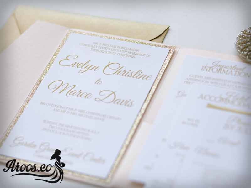 کارت عروسی مدرن