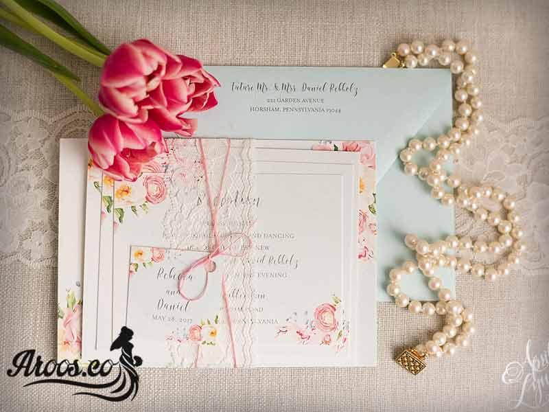کارت عروسی متفاوت