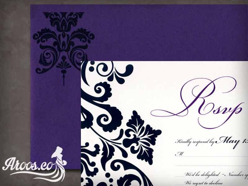 کارت عروسی عروس داماد