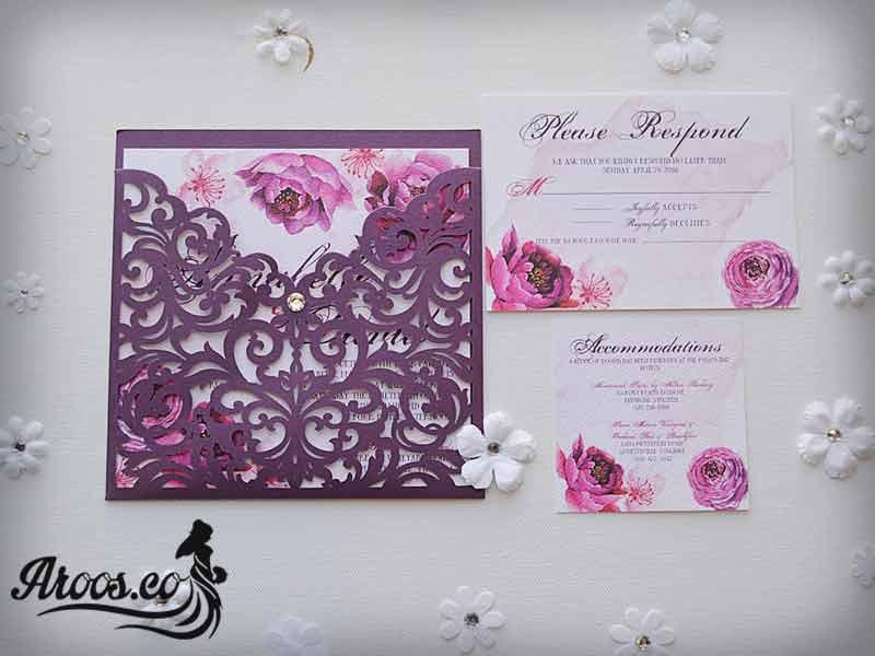 کارت عروسی سنتی