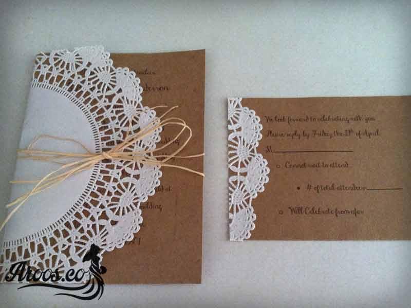 کارت عروسی شکلاتی
