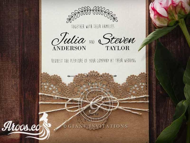 کارت عروسی بانمک
