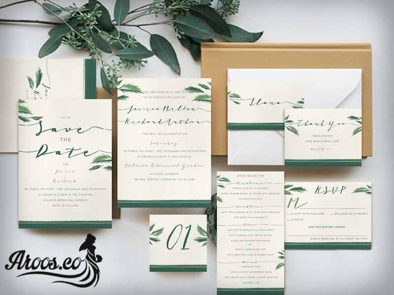 متن کارت عروسی بانمک