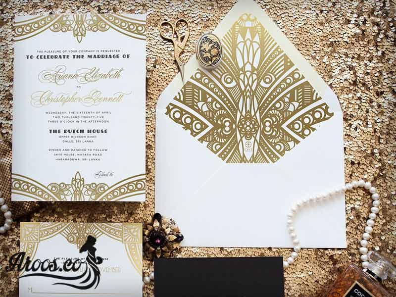 متن با کلاس برای کارت دعوت مراسم عروسی