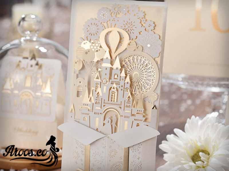 خرید کارت عروسی فانتزی
