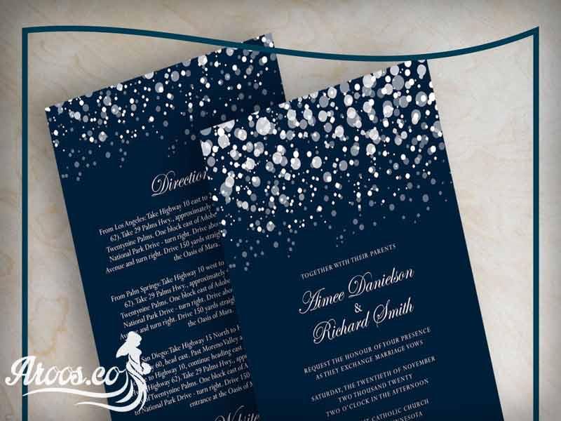 کارتهای عروسی خلاقانه