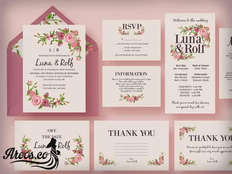 کارت عروسی نفیس