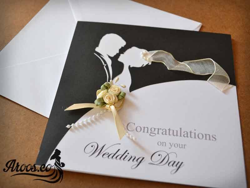 کارت عروس با طراحی لوکس