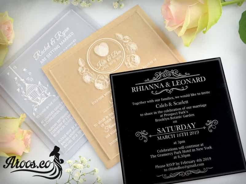 متن کارت عروسی به انگلیسی