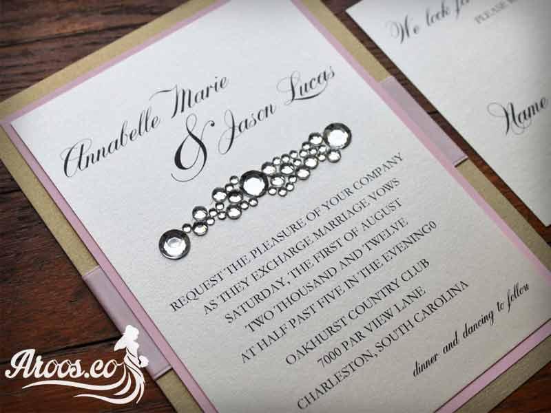 متن پاکت عروسی به انگلیسی