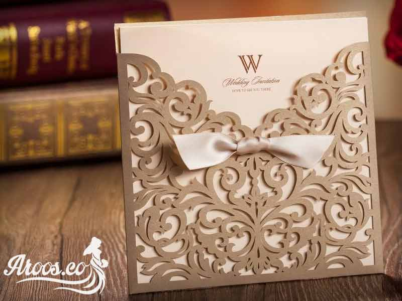 کارت عروسی لوکس، جالب