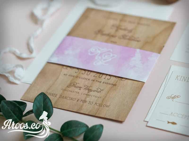 کارت عروسی ترکیه ای