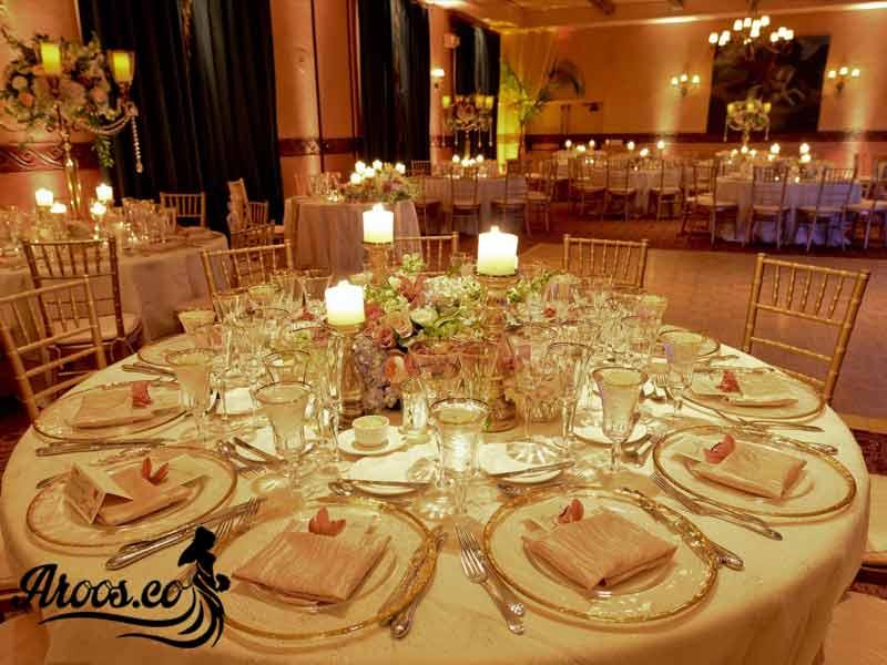 عروسی شیک با تشریفات خوب و ارزان