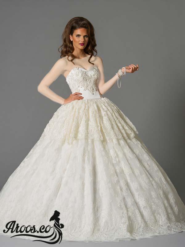 لباس عروس باز