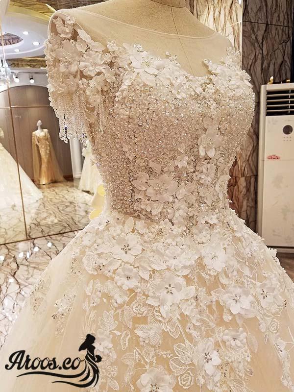 لباس عروس بی آستین