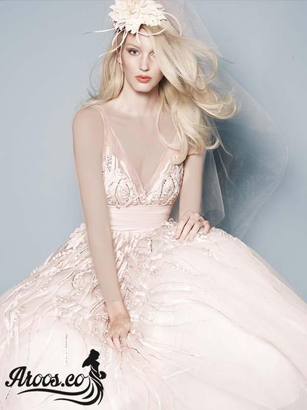لباس عروس مدل باز