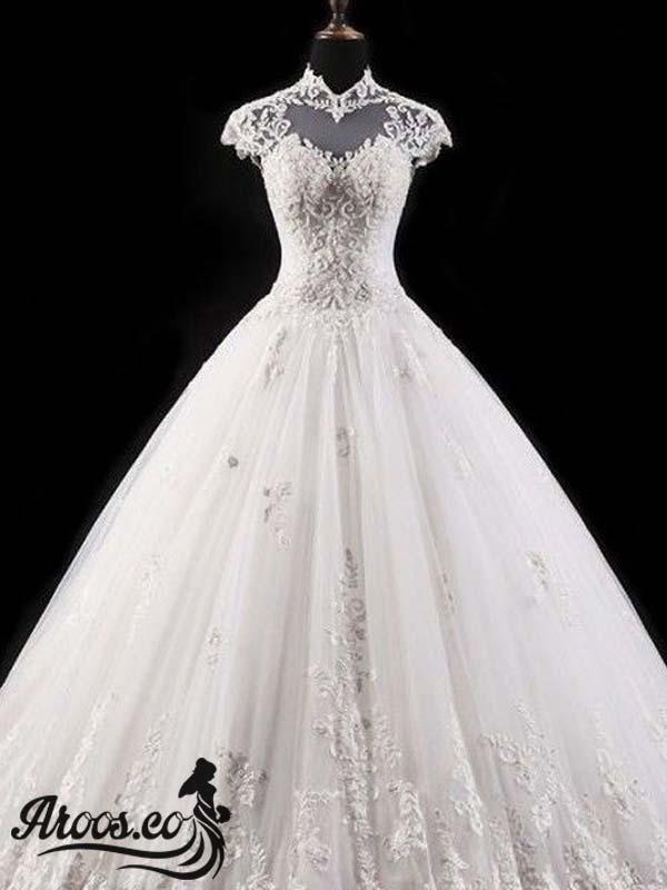 لباس عروسی مدل اسکارلت