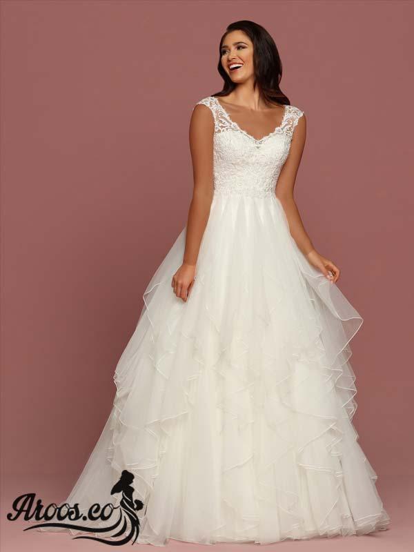 لباس عروس طراحی اروپایی