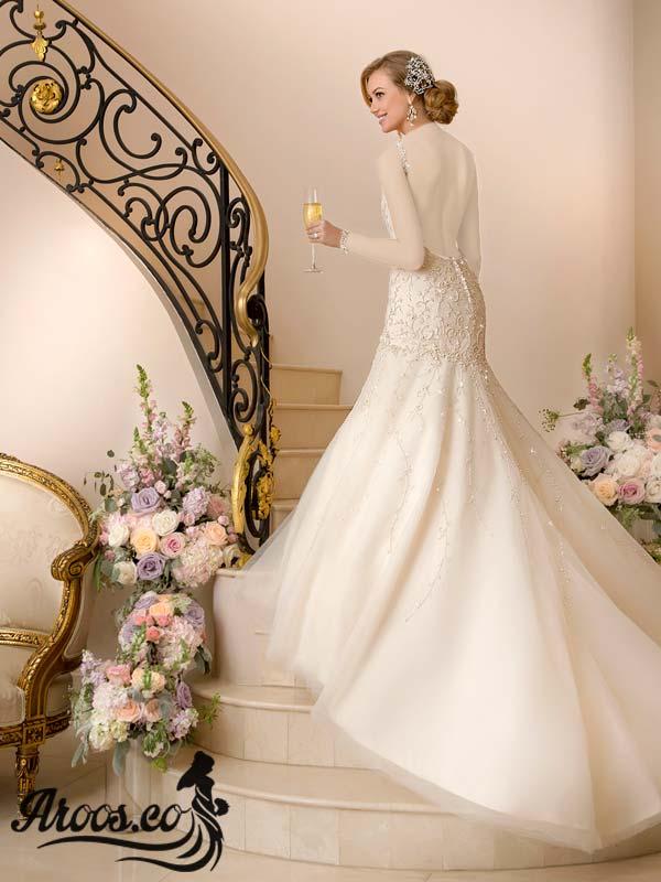 لباس عروس مدل اروپایی