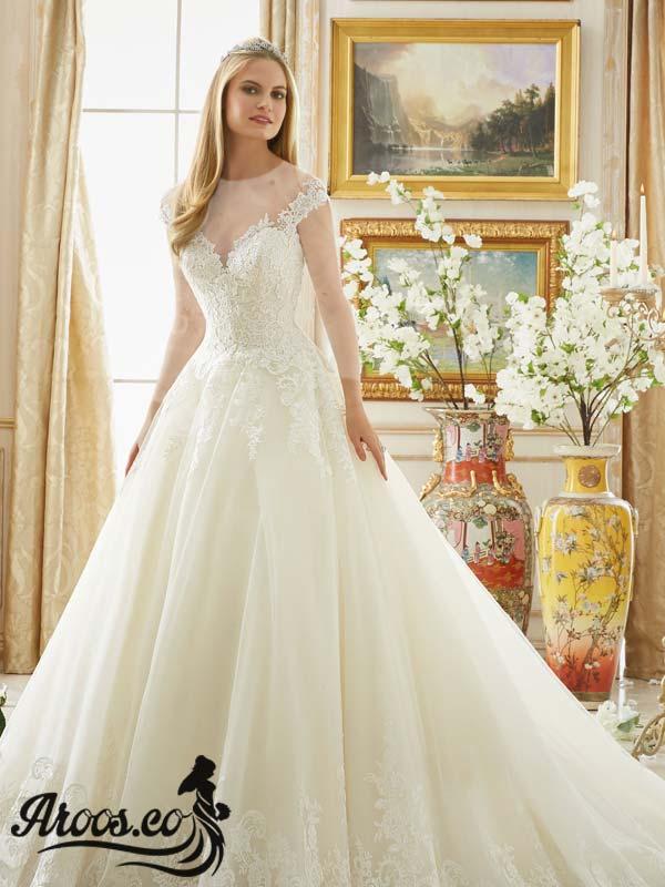 لباس عروس گیپورجدید