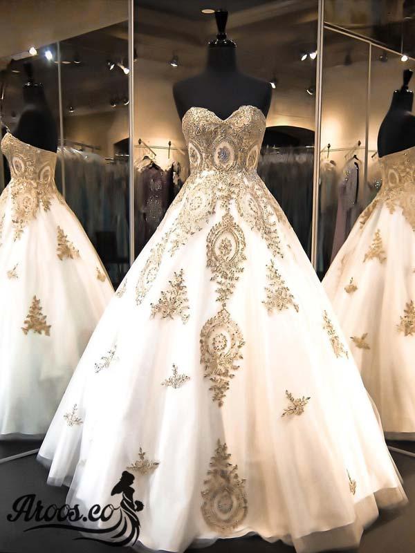 مدل لباس عروس عربی