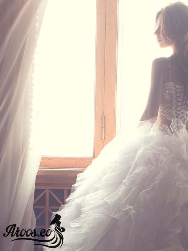 لباس عروس 2018 با طرح های بسیار زیبا و جدید