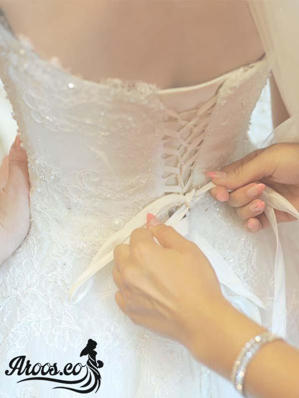 لباس پوشیده عروس - لباس عروس با حجاب اسلامی