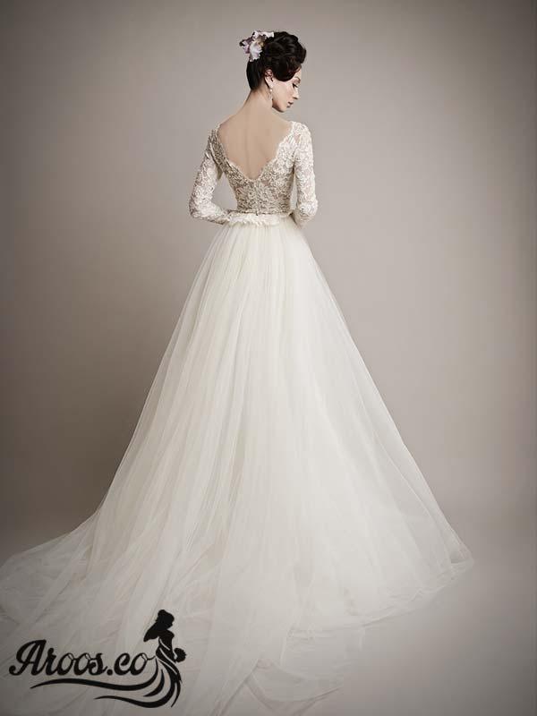 لباس عروس گیپور خاص و بسیار شیک