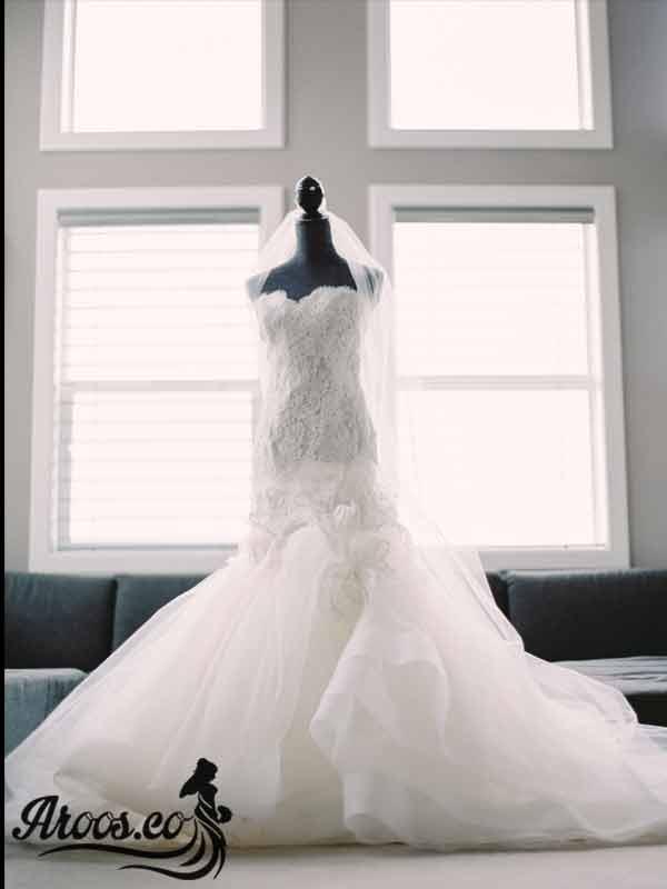 لباس عروس به سبک اروپایی
