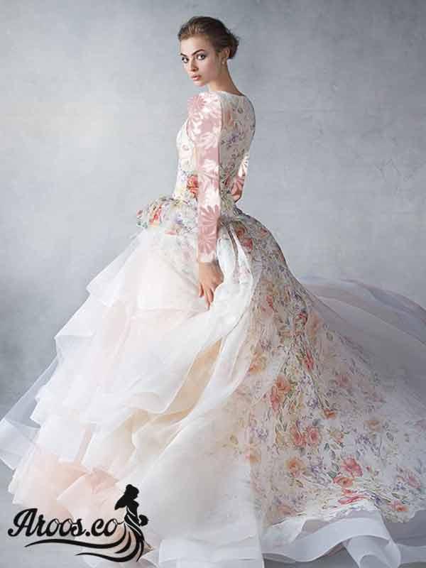 لباس عروس ساده قدیمی