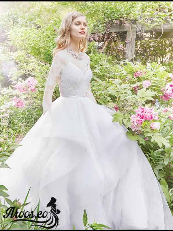 لباس عروس ساده ۲۰۱۹