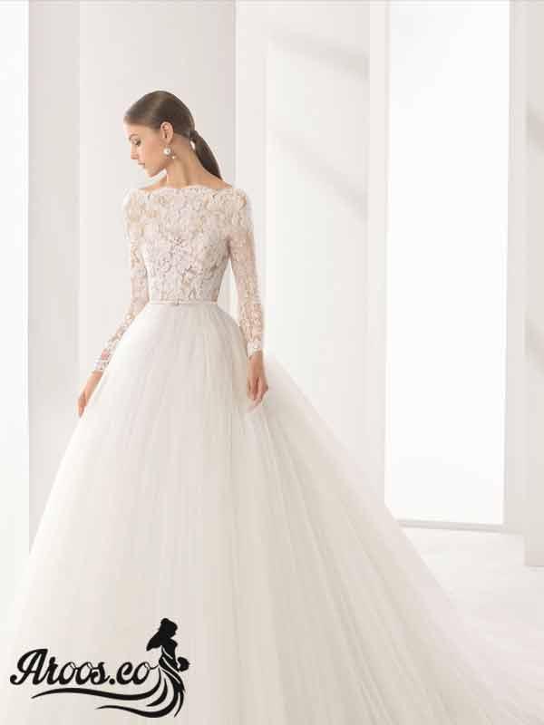 لباس عروس پوشیده باحجاب