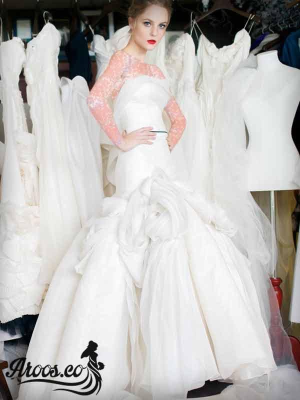 لباس عروس ساده ۲۰۱۸