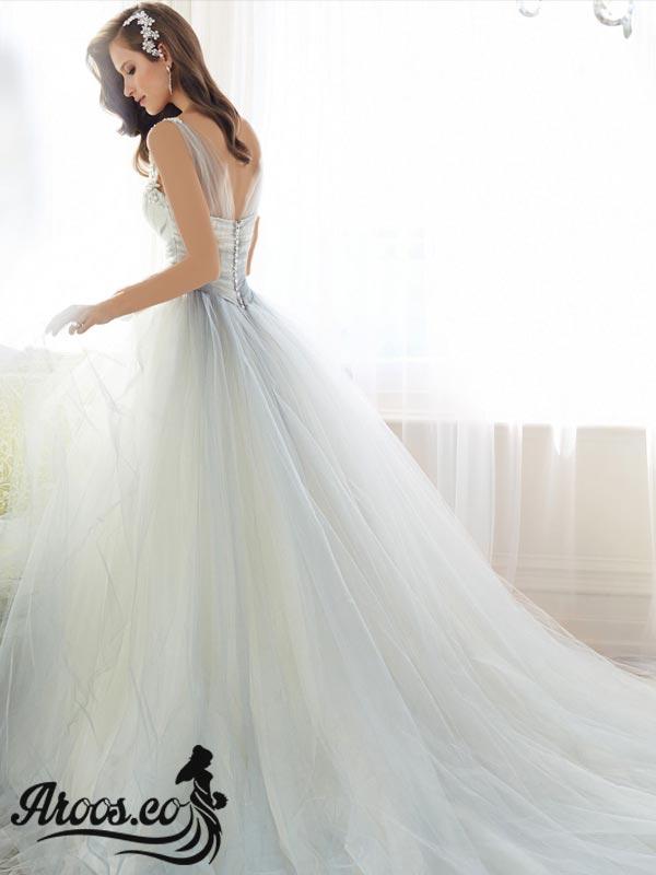 مدل لباس عروس 2018 جدید با طرح برتر