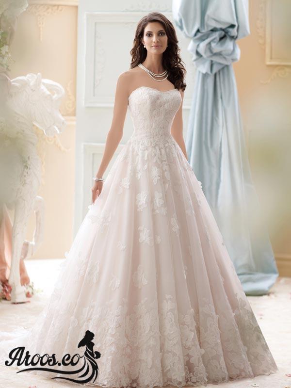 لباس عروس اسکارلتی مدل 2018