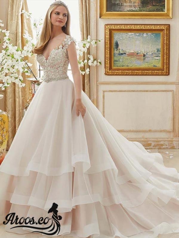 لباس عروس پرنسسی 2018