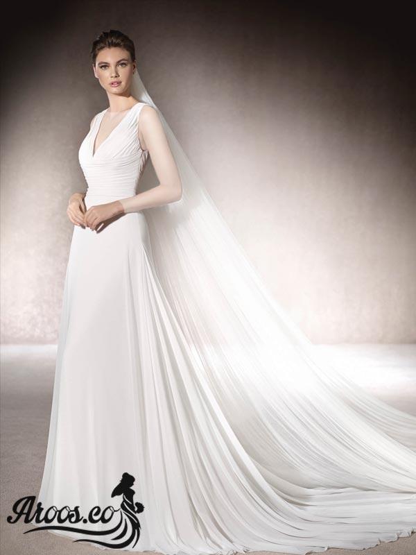 لباس عروس اروپایی شیک
