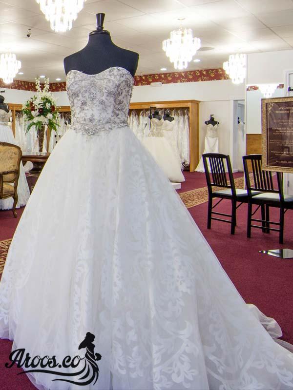 مدل لباس عروس دانتل جدید و جذاب