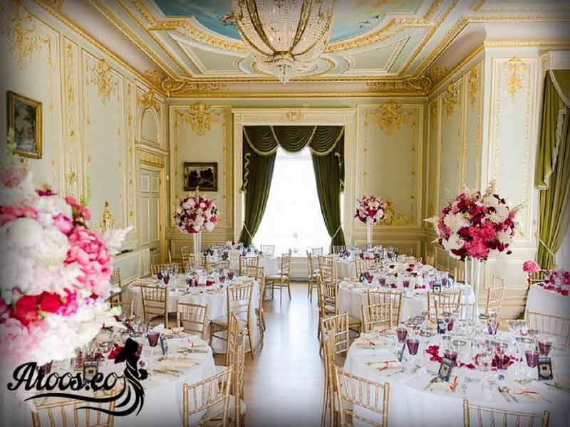 سالن عروسی مختلط
