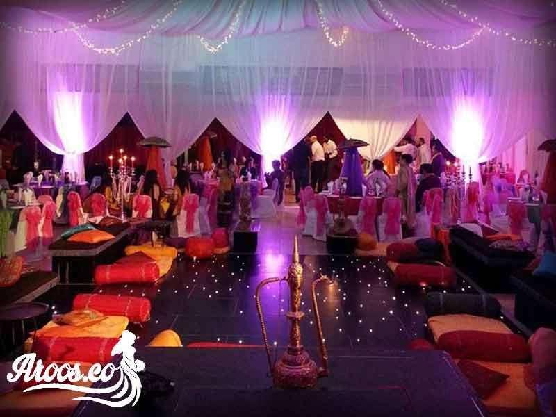 باغ عروسی مختلط ارزان