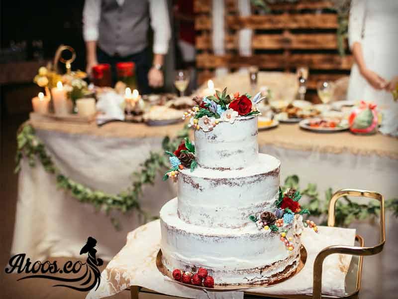 کیک عروسی ایرانی خوشمزه