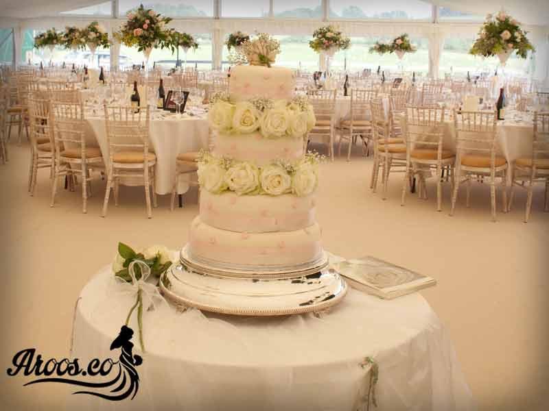 جدیدترین مدل کیک عروسی طبقاتی