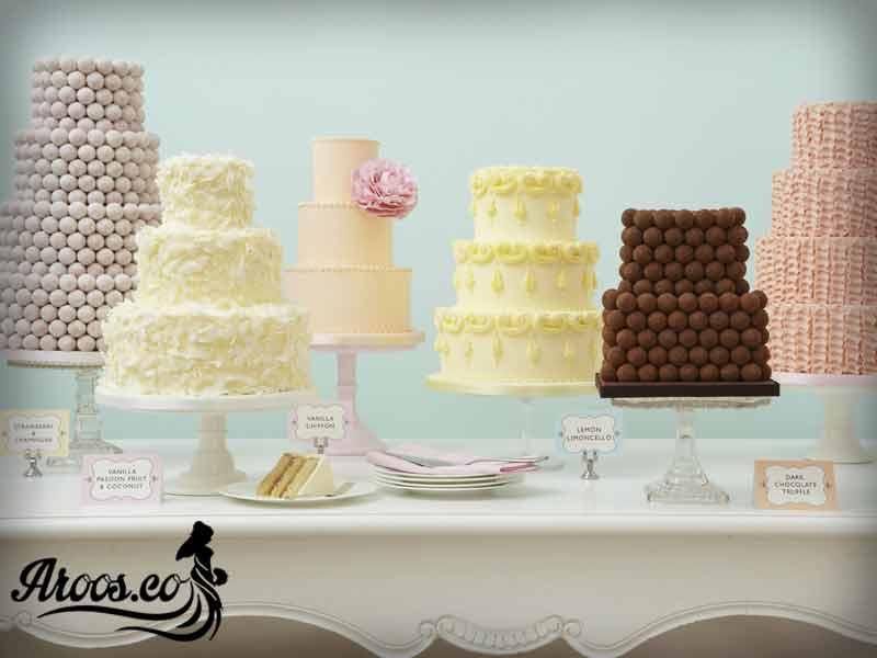 عکس کیک عروسی 2018